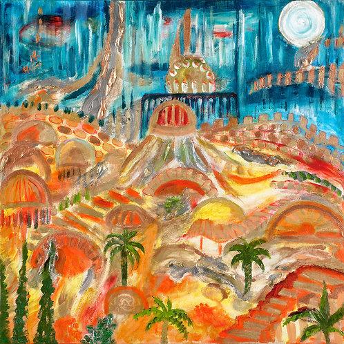 Jeruslaem of Gold and Light