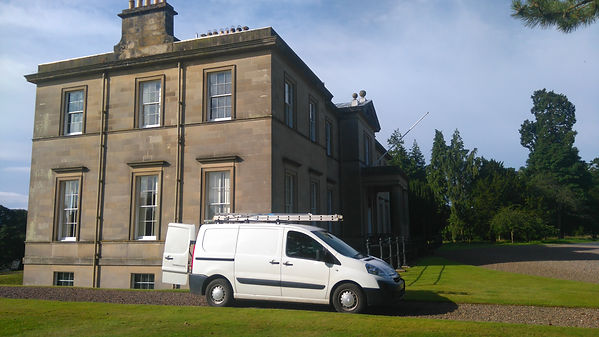 Window cleaners Scottish Borders