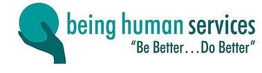 Being Human Services Logo - White.jpg