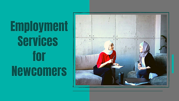 Employment Services for Newcomers - Webs