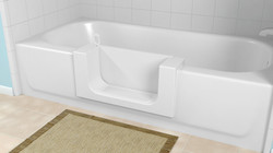 CLEANCUT tub modification with door