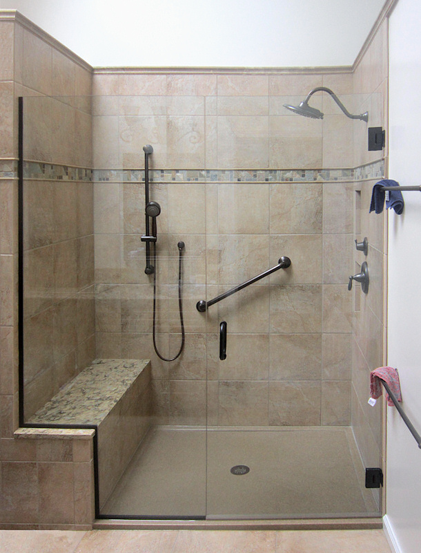 Onyx tiled-bench-frameless-shower
