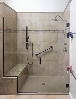 Onyx tiled-bench-frameless-shower