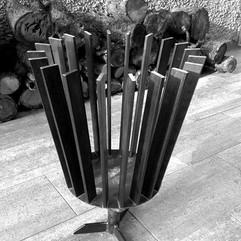 Feuerkorb aus Stahl