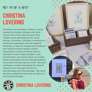 Copy of Copy of Meet the Artist Christin