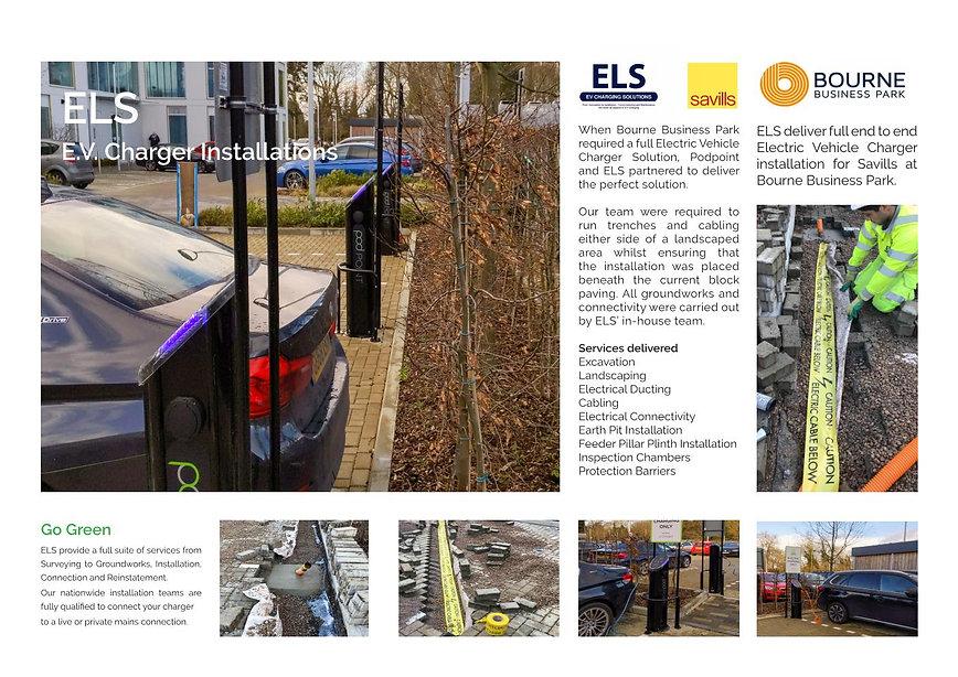 Bourne Business Park - EV Installation c