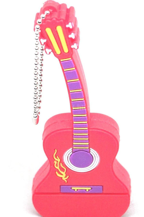16GB Red Guitar USB [Pack of 1]