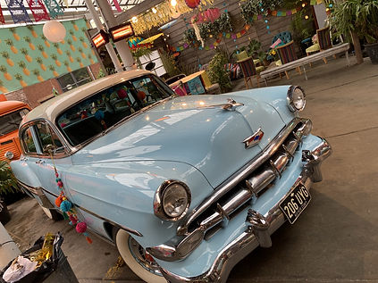 Chevy bel air Hire for tv film on locati