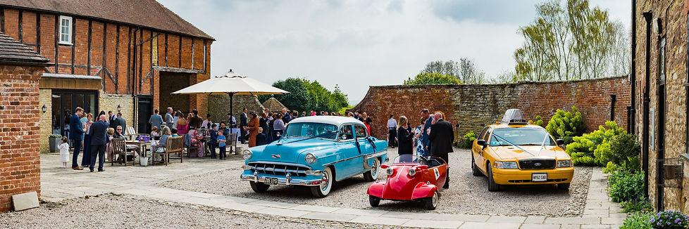 cool wedding cars