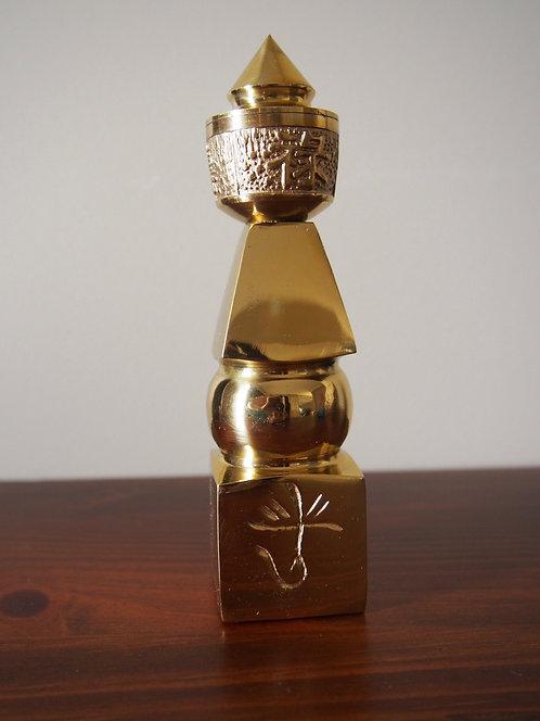 Brass 5 Element Pagoda
