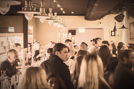 bella restaurant wine bar overview busy night bartender dj people weekend friday saturday night