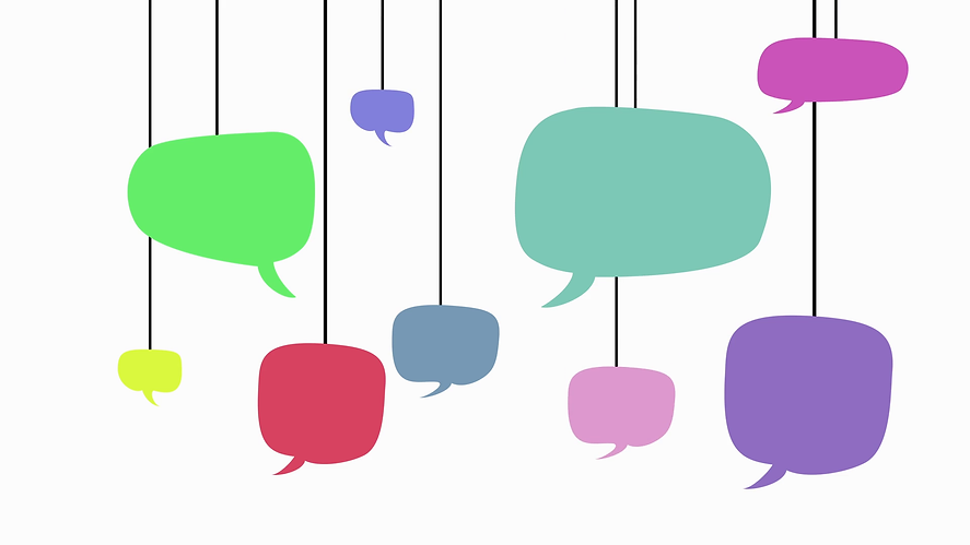 speech-bubbles-on-white-background-anima