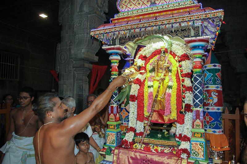 Navaratri Dia 4 Rishabha Vahanam