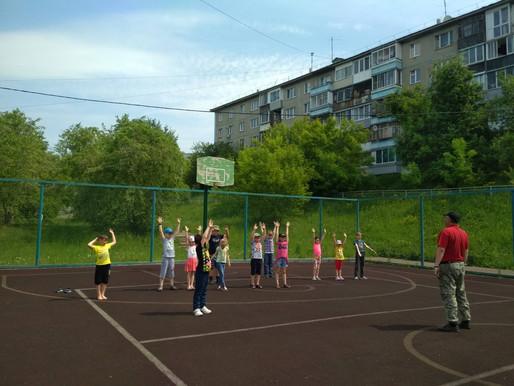17 июня в лагере «Полянка»