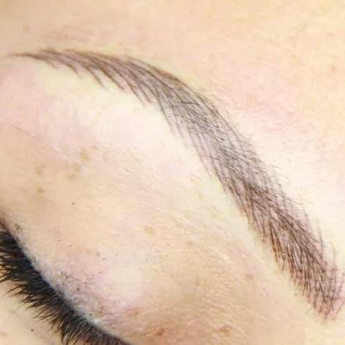 Hairstroke + poudré