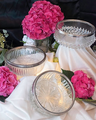Crystal bowls with silver rims.jpg