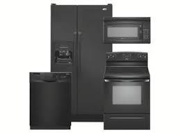 Black Appliance Package