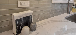 Subway Tile & Marble Countertops