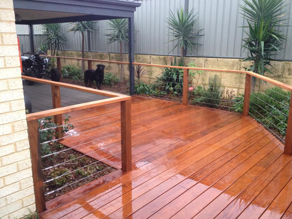Decking/Handrail