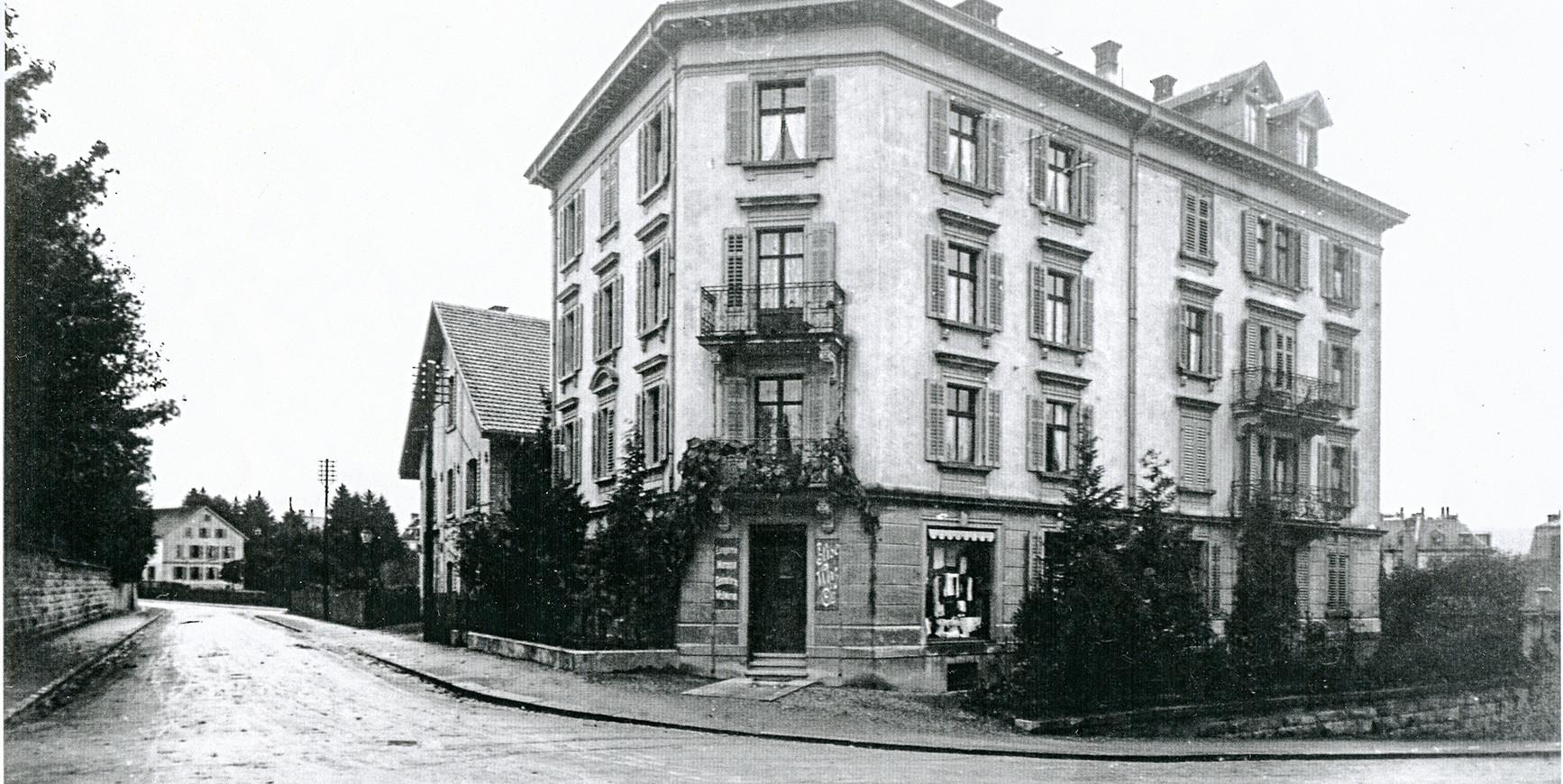 Neptunstrasse, PLZ Zürich