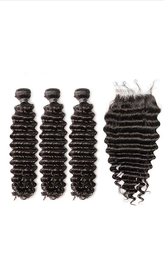 Deep Wave Bundle Deals with closure