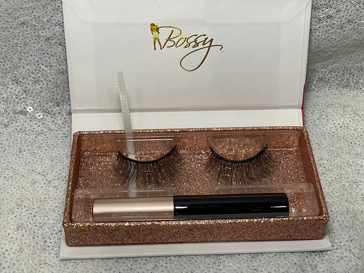 K18 - 3D/4D Faux Mink Magnetic Lashes with Eyeliner