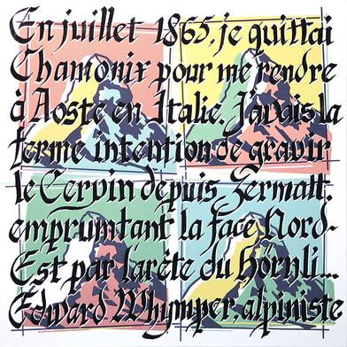 Cervin x4, hommage à Andy Warhol