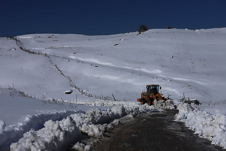 Djebel Megriss la neige