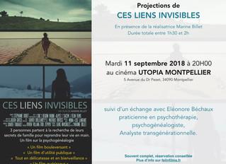 La psychogénéalogie à l'Utopia à Montpellier!
