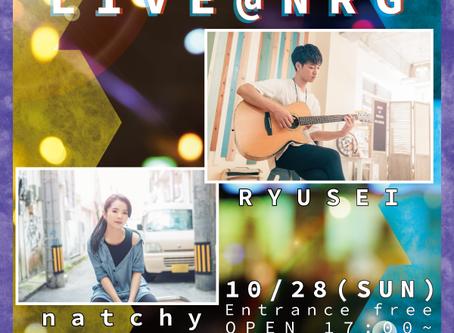 LIVE@NRG 10/28 SUN