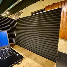 吸音材間仕切り|zoom会議でおすすめ|うるま市沖縄市付近でwifiが使えるお店