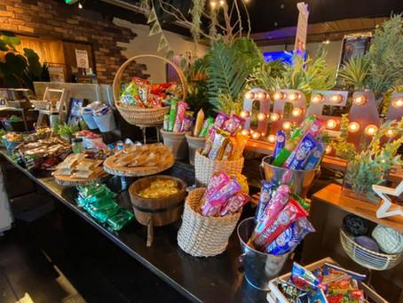 100種類以上のお菓子が食べ放題