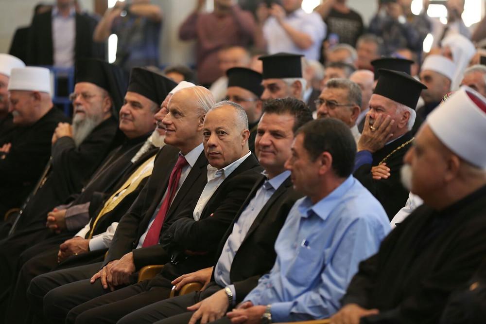 عودة وأبو معروف يشاركان في زيارة النبي شعيب ويؤكدان على وحدة أبناء الشعب الواحد