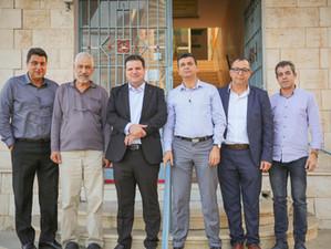 النائب أيمن عودة جمع تبرعات حررت جزءًا من وقف الاستقلال في حيفا