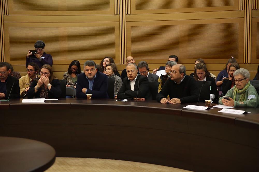 مؤتمر في الكنيست 50 عاما من الاحتلال