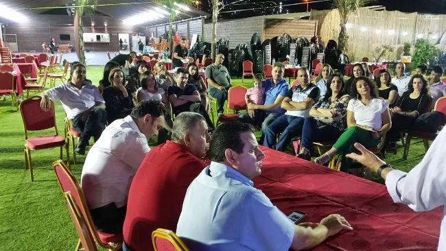النائب عودة يشارك في اجتماع لسكان  كرميئيل العرب لبناء مدرسة عربية
