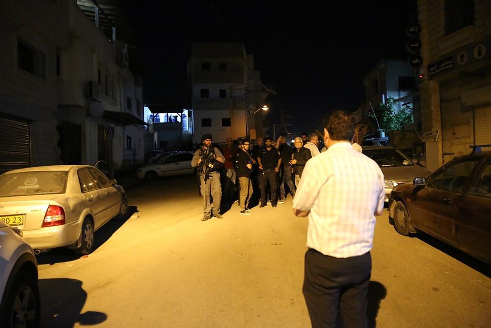 النائب عودة في كفرقاسم: الشرطة تمعن في جرائمها بحق المواطنين العرب