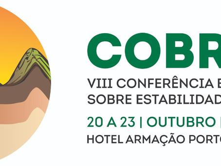 VIII COBRAE - Novo prazo para resumos prorrogado para 26/MAR/2021.