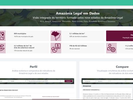 Amazônia Legal em Dados - Novo hub de informações para o planejamento racional de sua ocupação.