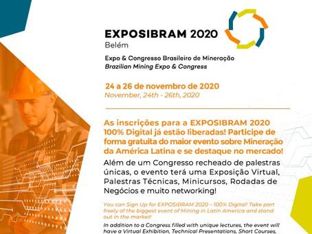 ABREMI apoia e recomenda o EXPOSIBRAM 2020 que será online e gratuito.