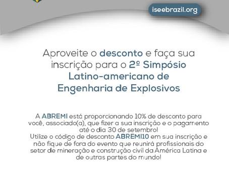 Evento especializado com apoio da ABREMI e benefícios aos profissionais.