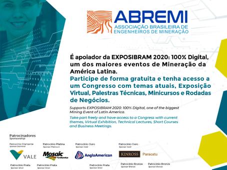 ABREMI apoiadora oficial do EXPOSIBRAM 2020 - Participe!