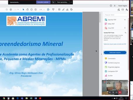 Plano de Empreendedorismo Mineral da ABREMI é apresentado ao Governo.