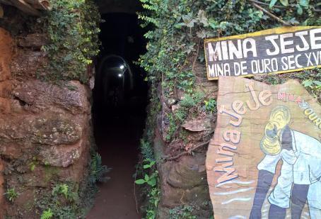 Mineração colonial no subsolo de Ouro Preto - folclore e fatos.
