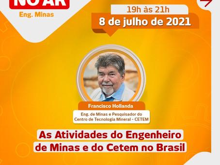 Ex Presidente da ABREMI homenageia o Dia do Engenheiro de Minas com palestra sobre o CTEM.