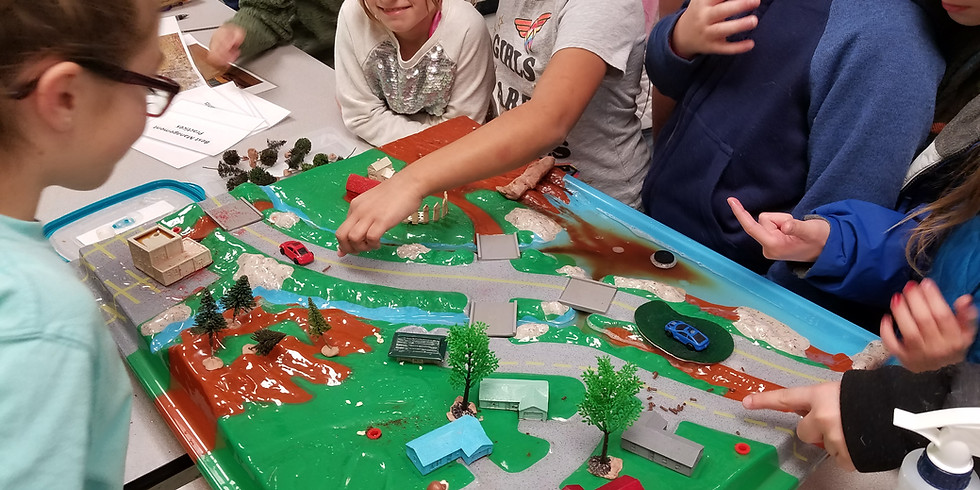 Home School Thursdays: Enviroscape & Water Wonders (Ages 7+)