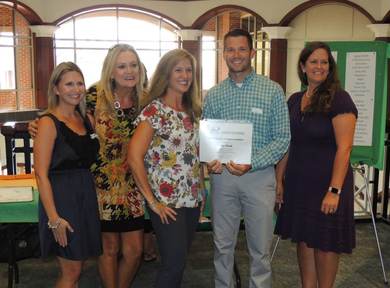 Educator of the Year Chris Hawlk, Whitlow Elementary