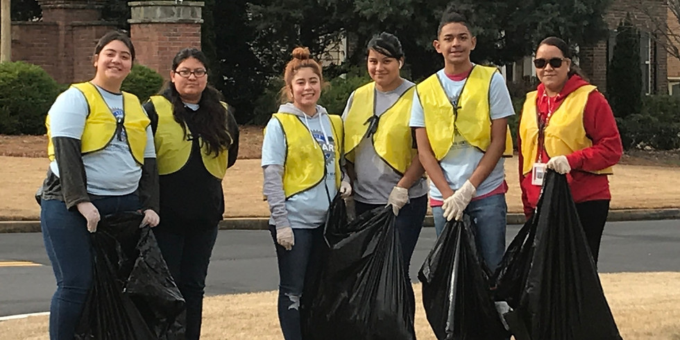Community Action Crew- Litter Clean Up