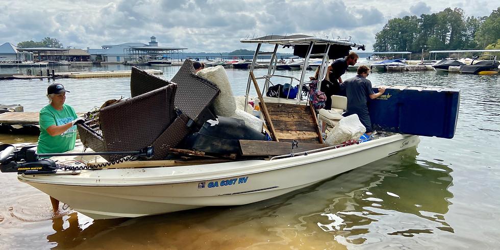 Shore Sweep- Port Royale Marina