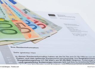 Lukrative Aufstockungsmöglichkeit durch Extrabeiträge zur Rentenversicherung